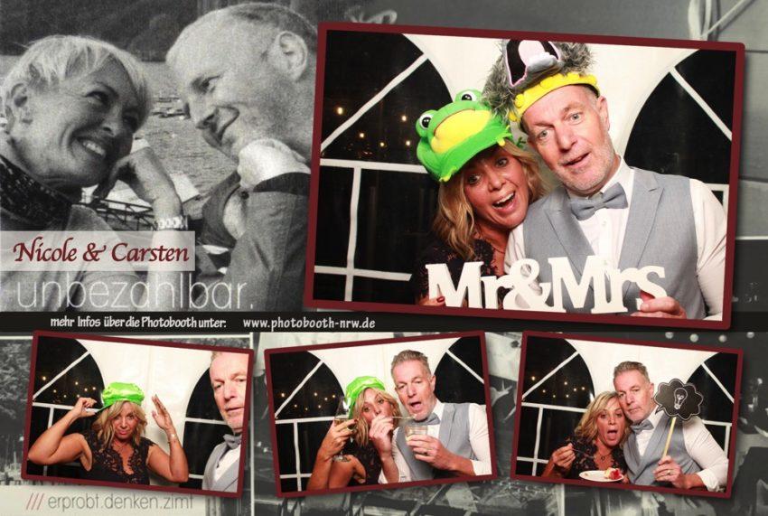 Photobooth auf einer Hochzeit