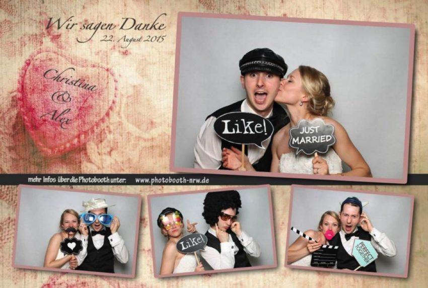 Muster – Layouts – Photobooth Hochzeit
